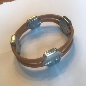 Tory Burch studded leather bracelet